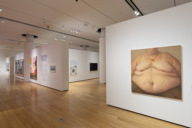 Installation View, Taking Space: Contemporary Women Artists and the Politics of Scale, The Pennsylvania Academy of the Fine Arts, Philadelphia, PA