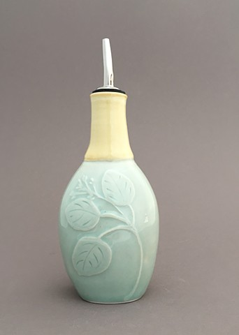 Celadon Eucalyptus Bottle