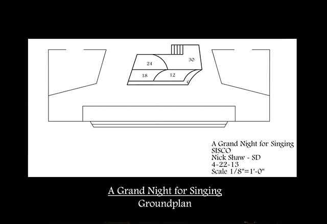 A Grand Night for Singing Ground Plan