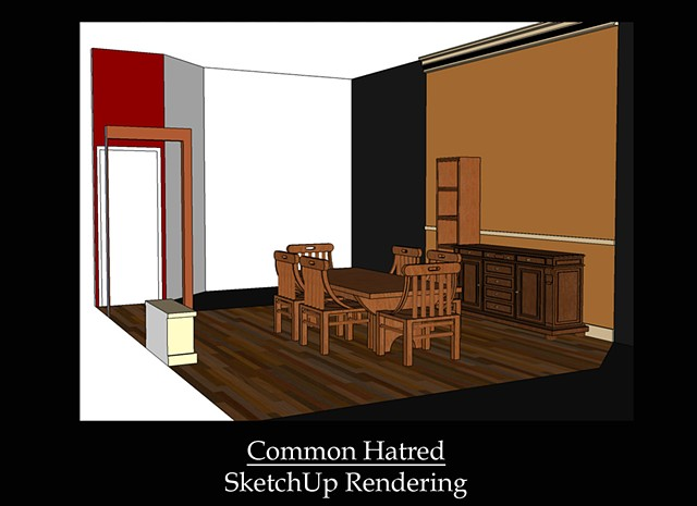 Common Hatred SketchUp Model