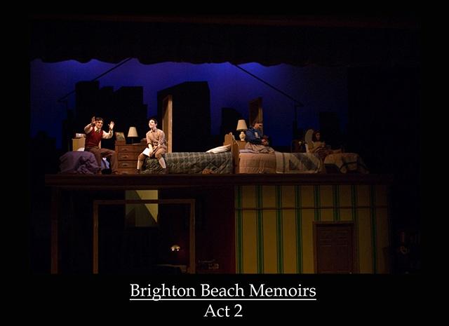 Brighton Beach Memoirs   Act 2
