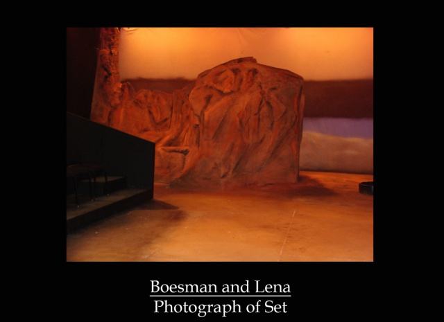 Boesman and Lena Photograph of Set 1