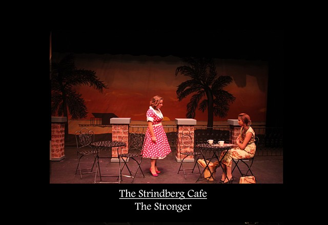 Strindberg Cafe - The Stronger Production Photo 2