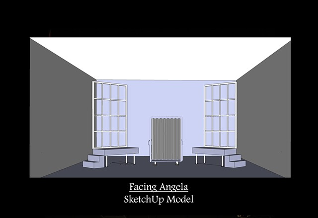 Facing Angela SketchUp Model 1