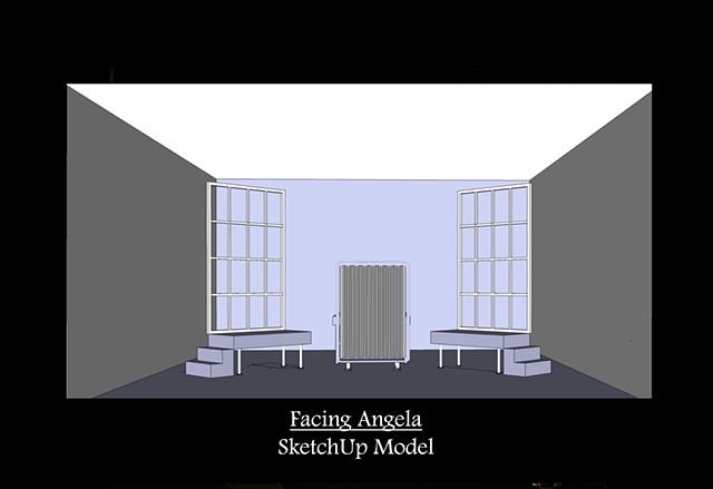 Facing Angela SketchUp Model 1