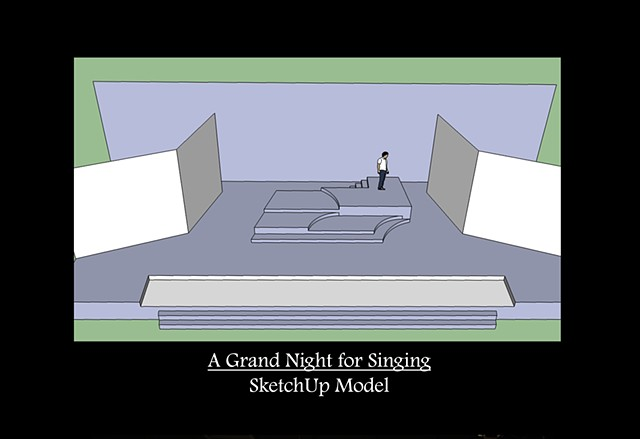 A Grand Night for Singing SketchUp Model 1