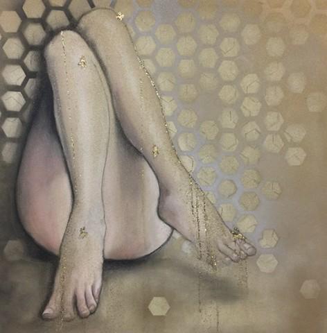 honey dripper, EVE Nation, honey legs,legs,studioama art, allison morgan