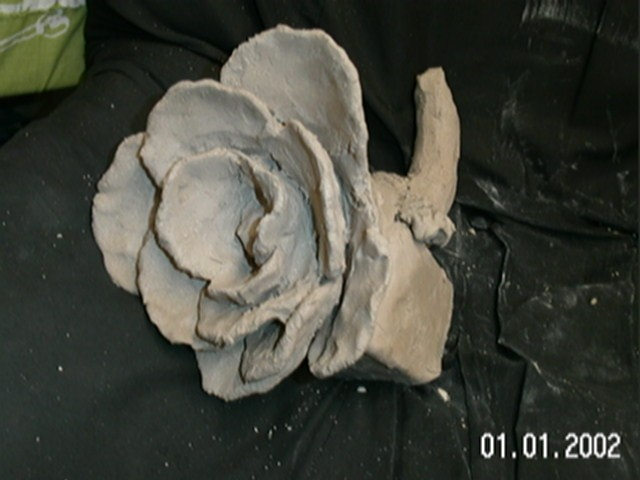 Six Feet Under Props Clay student art that is not good.