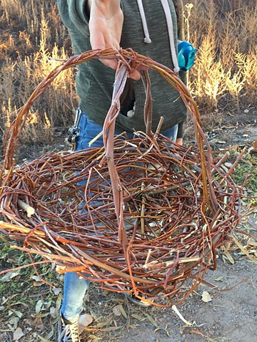 Open Space Goldsworthy Project #1 Basket