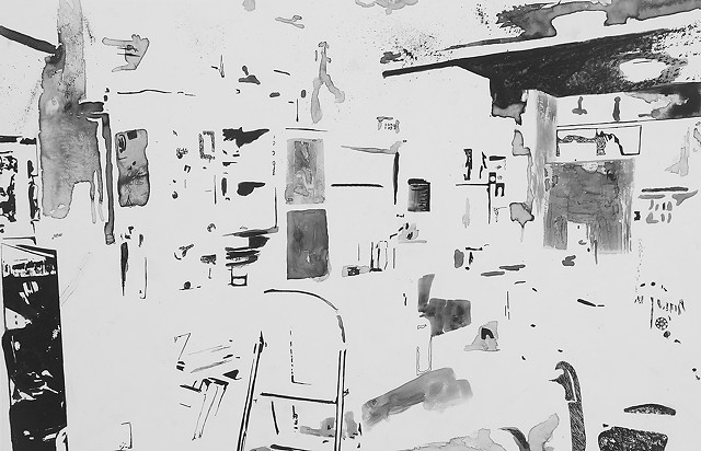 Study for Kitchen Clutter 1