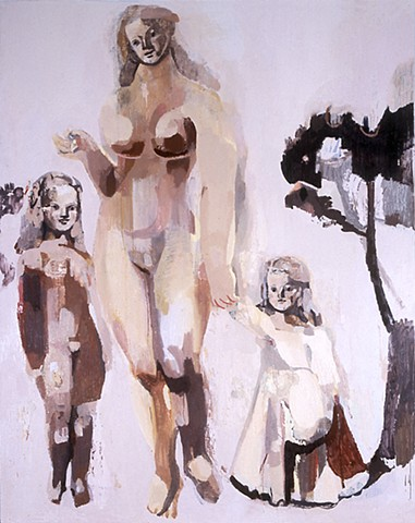 Oil Painting by Cecilia Sikström