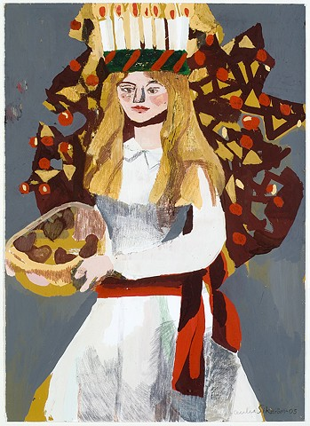 Gouache by Cecilia Sikström
