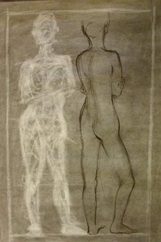Figure Drawing/ Woman II