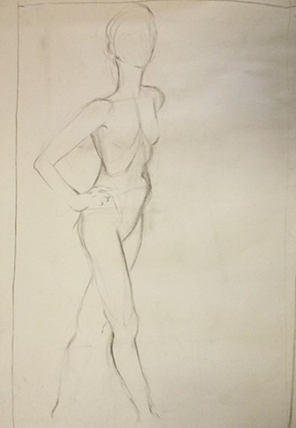 Figure Drawing/ Woman I