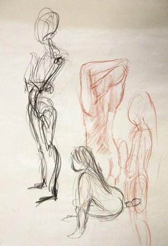 Figure Drawing Study II