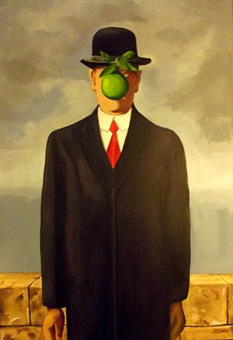 Copy of Son of Man by René Magritte