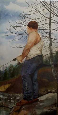 Lance Fishing