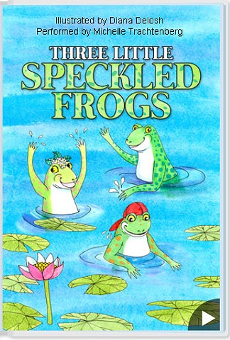 Three Little Speckled Frogs e-book