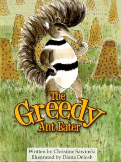 The Greedy Anteater Book app