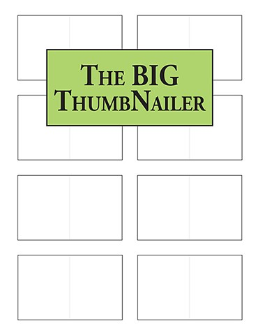 A book of thumbnail boxes for your creative process.