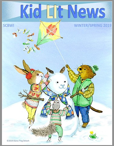 Kid LIT News 2019 Winter/Spring Cover art