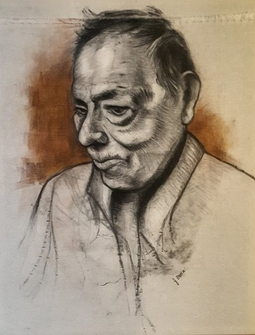 """Tolo"" (Portrait of the artist's grandfather)"