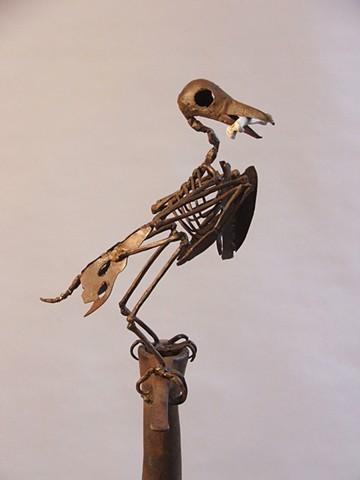 Mark Kindschi - Bone Crow 2 detail