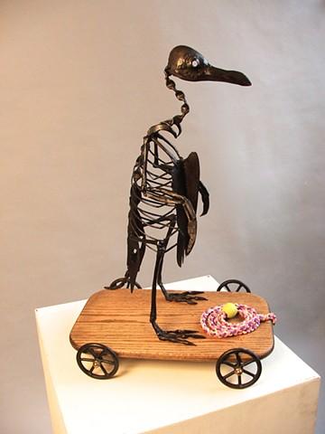 Mark Kindschi - Dead Penguin Pulltoy