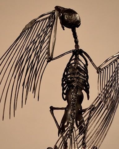 Mark Kindschi - Bone Crow 1 - detail