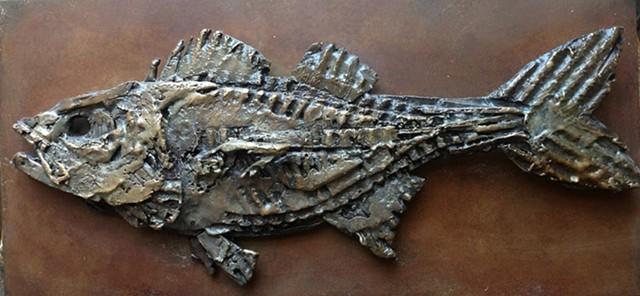 corrugated fish