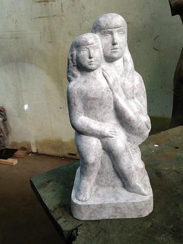 sculpture repair (after)