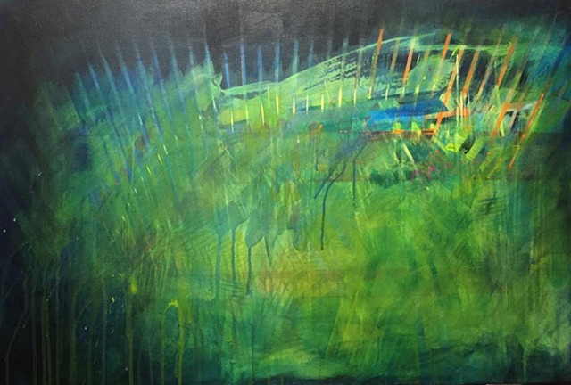 """untitled"" acrylic on canvas 24""x36"""
