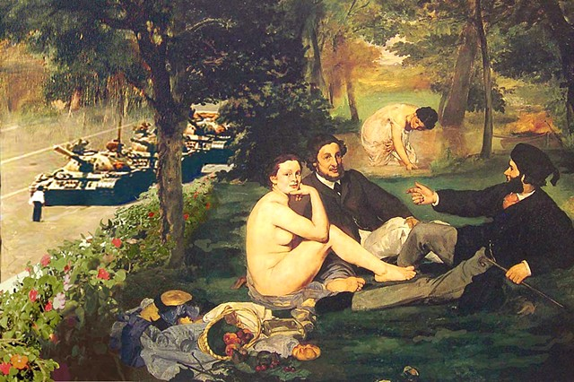 "Lessons in History Series  ""After Manet / Dejeuner sur l'herbe"""