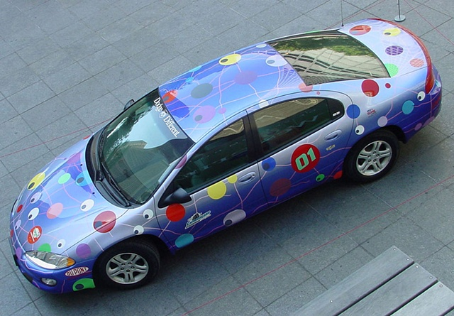 NASCAR Pace car, Public Art Commission