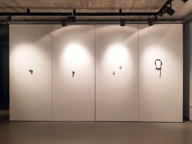 Install View Melanithros Art Space Athens Jewelry Week 2018