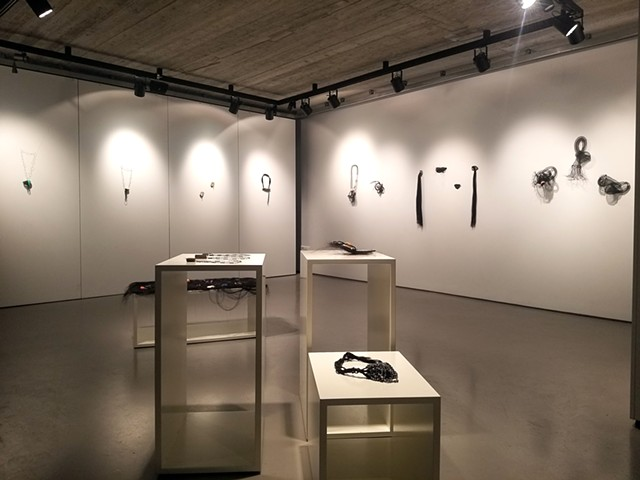 Install View Milanithros Art Space Athens Jewelry Week 2018
