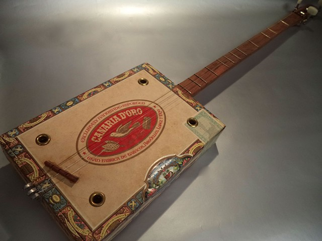 3 String Cigar Box Guitar