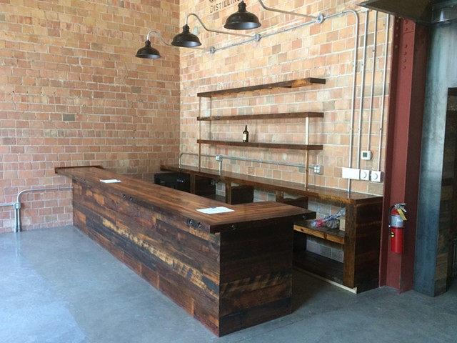 Bar Top - James E Pepper Distillery Tasting Room