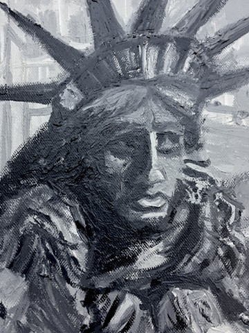 Will Work for Liberty [Detail #2]
