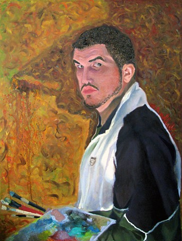 Self Portrait in the Style of a Master
