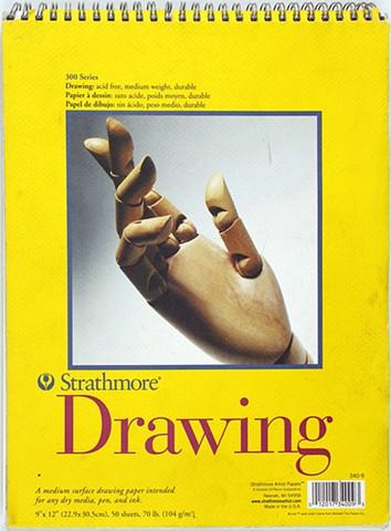 Front Cover of Sketchbook