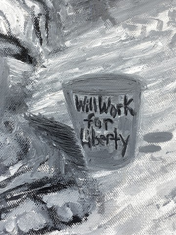 Will Work for Liberty [Detail #5]