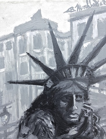 Will Work for Liberty [Detail #1]