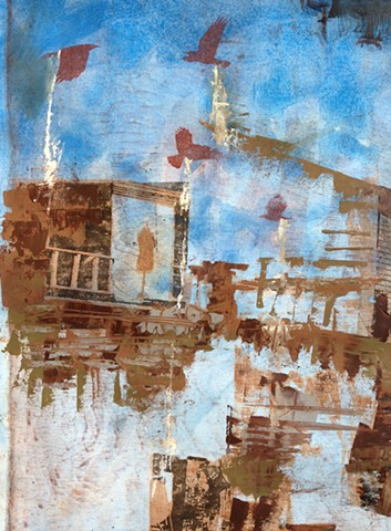 Where has the Town Gone? [Edificio Abandonado Series] (Detail #4)