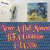 Never A Dull Moment / 2016 /  BFA Exhibition - The Cleveland Institute of Art / 11610 Euclid Ave, Cleveland, OH 44106