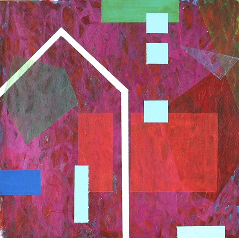 abstract geometric painting art