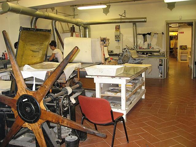 SACI print studio