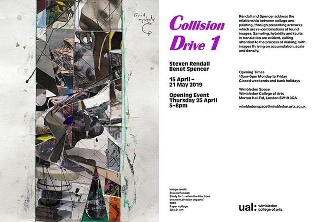 Collision Drive 1, Wimbledon Space, UAL, 2019