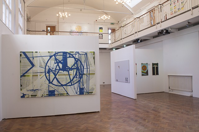 'Phase I' Ruskin Gallery, Cambridge Installation shot 1