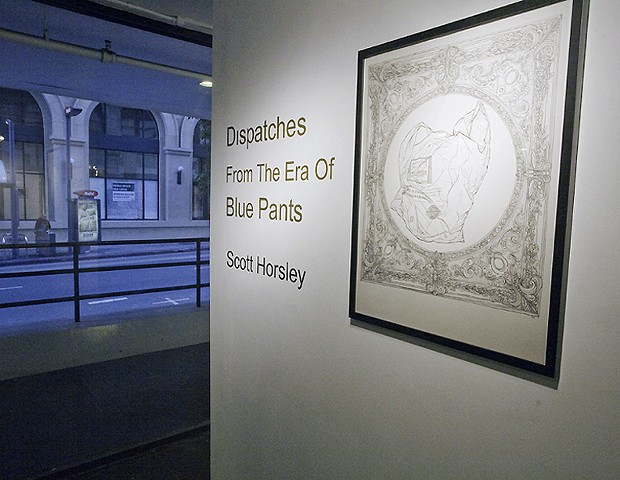 From 'Dispatches from the Era of Blue Pants' at CompactSpace, Los Angeles